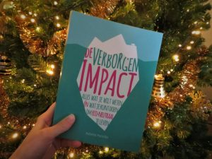 Boek voor een kerstboom