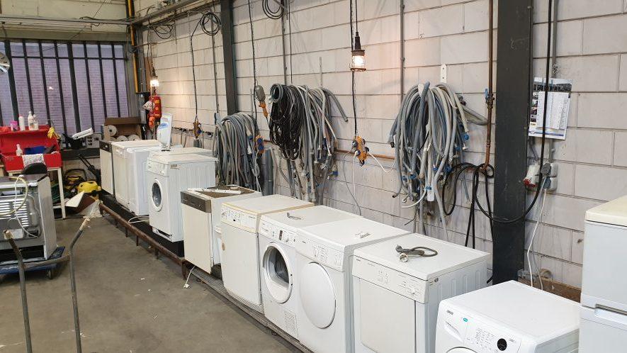 Veel reparaties van e-waste bij Kringkoop Mijdrecht